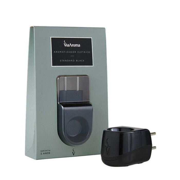 Aromatizador Elétrico Standard Black - Bivolt - Via Aroma