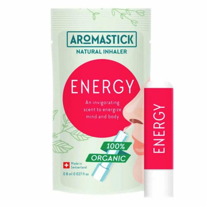 Inalador Natural Energizante - AromaStick Energy - VEG