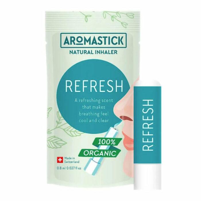 Inalador Natural Refrescante - AromaStick Refresh - VEG