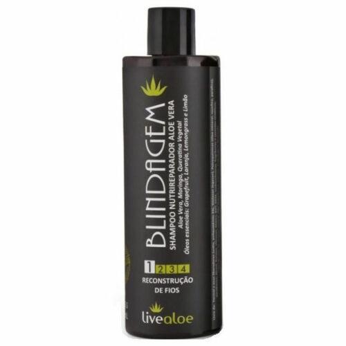 Shampoo Nutrireparador Aloe Vera - 300ml - Livealoe
