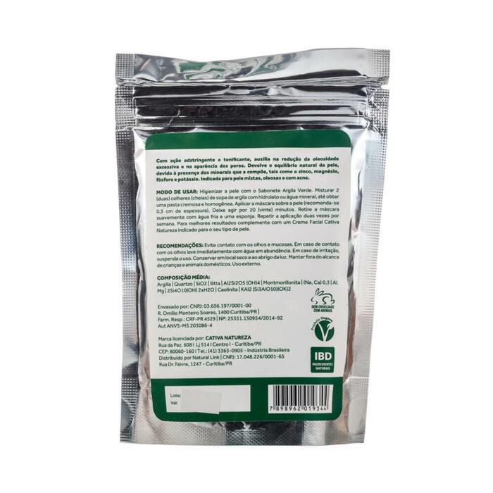 argila verde 100g