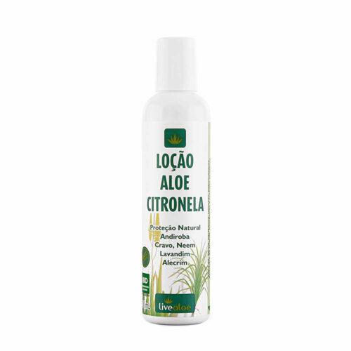 Loção Aloe Citronela - 200ml - Livealoe