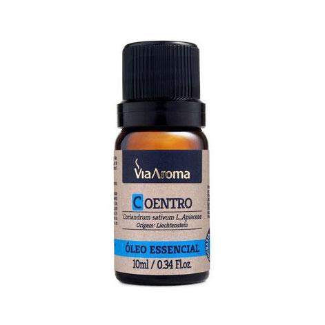 óleo essencial coentro