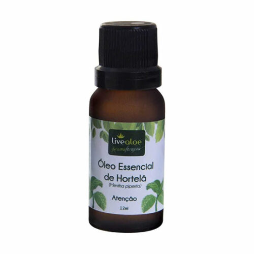 óleo essencial de hortelão live aloe 12ml