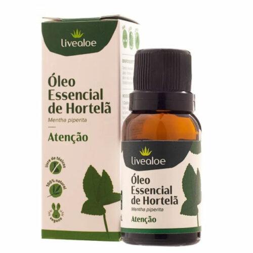 óleo essencial de hortelã pimenta live aloe