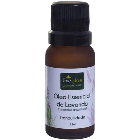 óleo essencial de lavanda live aloe