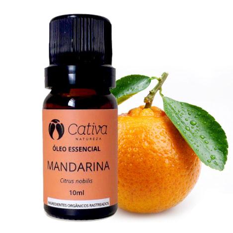 óleo essencial de mandarina