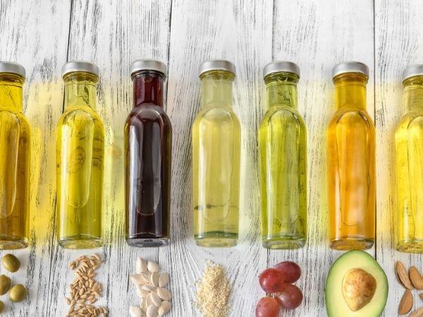 onde usar óleo vegetal