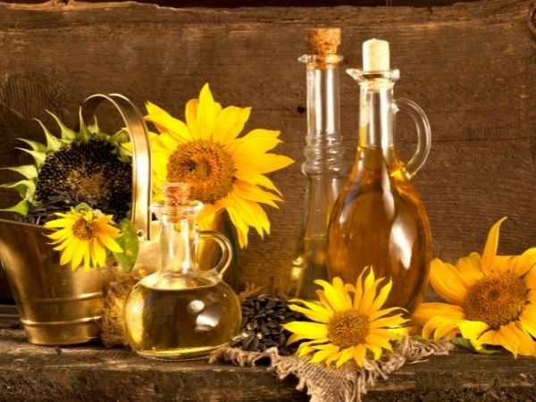 lista de óleos vegetais puros